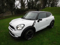 2014 '64' MINI PACEMAN 1.6 COOPER S CHILI PACK IN LIGHT WHITE. ONLY 23950 MILES.