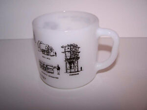 Federal Glass coffee mug Minnesota Taconite Country Processing London Ontario image 2