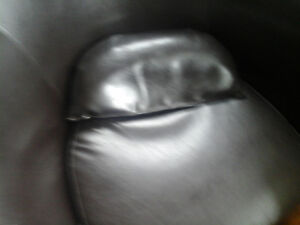 bucket chair with cushion great shape smaller size