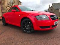*12 MTHS WARRANTY*2006(55)AUDI TT 1.8 TURBO WITH 77K 10 STAMPS VERY CLEAN CAR*