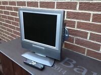 """15"""" TV DVD Combo. Good used working condition. £25. Collection Wallsend."""