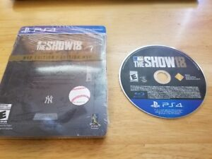 PS4 MLB The Show 18 (Steelbook ed.)