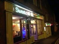 Established Indian restaurant in Hereford