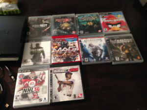 PS3 and ten games