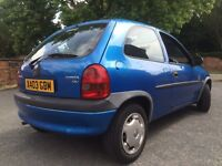 Vauxhall corsa - extremely low mileage