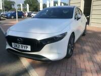 2021 Mazda 3 2.0 Skyactiv G MHEV GT Sport Tech 5dr Auto HATCHBACK Petrol Automat