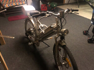 Electric bike Giant brand older selling as is