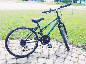 "Triumph Encounter 24"" Dark Green 18 Speed Bike"