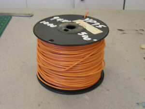 Spool of Copper Wire 12 AWG MTW or THHN or THWN 600V