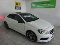 White Mercedes-Benz A200 2.1CDI AMG Sport ***FROM £67 PER WEEK***
