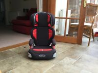 Graco car seat/ booster