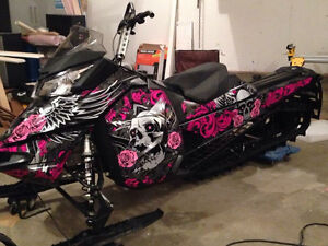 MUST SELL!!!!! - 2014 Skidoo Summit 800
