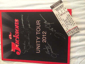 The Jacksons Unity Tour Book Signed