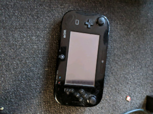 Wii U gamepad only