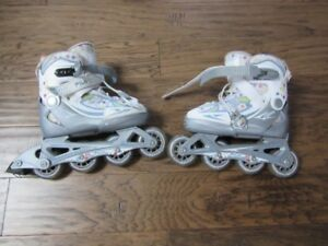 Roller blades for youth that are adjustable