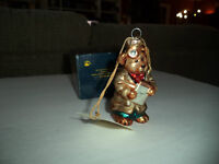 Boyds Ornament #391011 DR HARRISON GRIZ blown glass