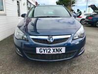 Vauxhall Astra SRi 5dr PETROL MANUAL 2012/12