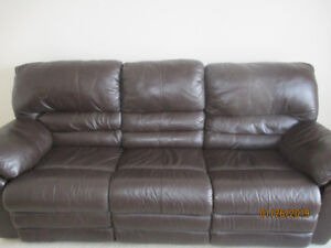 Reclining Sofa & Arm Chair