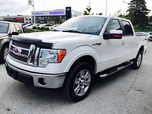 2009 FORD F-150 CREW CAB LARIAT 4X4 TOP OF THE LINE, MINT SHAPE!