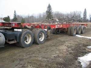 MAX ATLAS TRI AXLE TROMBONE CONTAINER TRAILER (2006)
