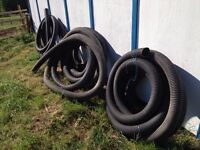 """200 ft of 4"""" big 0 Solid pipe $40"""