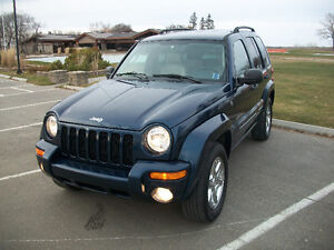 "2004 Jeep Liberty LIMITED  "" Trail Rated """