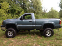 2004 Chevrolet Silverado Duramax Lifted