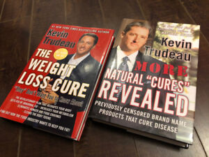 "Set of Two Kevin Trudeau ""Natural Cures"" Hardcover Books"