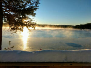 Cottage on Kennisis Lake - End of Winter Special - 40% off