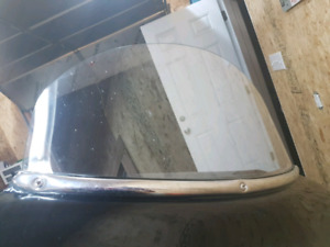 """10"""" Clear Harley Touring Windshield"""