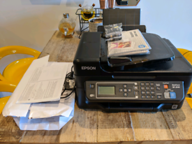 Epson WF2630 Wireless All in One Printer / Includes 2 New Inks