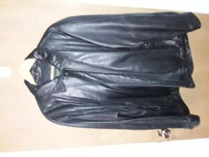 Men's Danier leather jacket  XXL