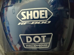 SHOEI HELMET RF-800 $120    MADE IN JAPAN