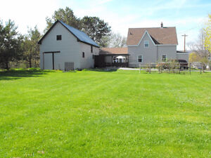 BRIDGETOWN -3 to 4 bedroom home on .35 acre in town.