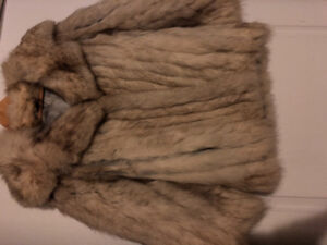 Stylish Women's Fox Fur Coat for Sale - $400 OBO