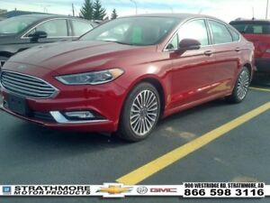 2017 Ford Fusion AWD-Titanium-Heat/Cool Seats-Nav-Sunroof-Ecoboo