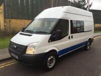 2012 Ford Transit 2.2 TDCi 350 LWB Mess Van with Toilet Manual MESS