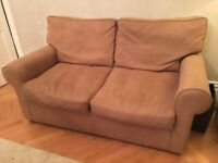 Lounge Sofa x2 (one normal, one with pull out camp bed) £50 each