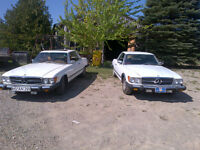 1976 Merceds Benz 450 SLC, V8 gas, not diesel