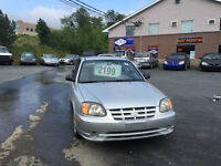 2004 Hyundai Accent Coupe (2 door) LOW KM NEW MVI