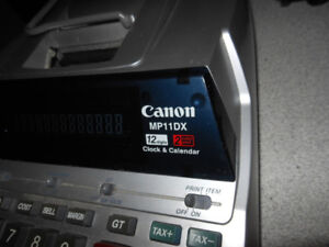 Calculatrice Canon  MP11Dx  impression   bureautique