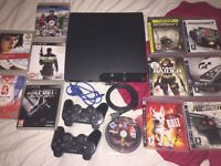 SONY PS3 SLIM CONSOLE & GAMES BUNDLE