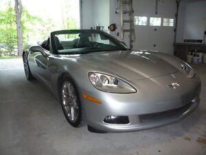 """SHOWROOM"" Corvette C6 convertible, sport package Z-51"