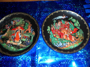 BRADFORD RUSSIAN LEGENDS PLATES $20 each/ $30 for both. Prince George British Columbia image 1