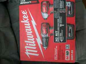 Brand new Milwaukee hammer drill and driver