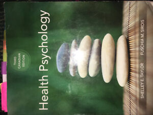 Health Psychology book 3rd Canadian Edition Shelley E. Taylor