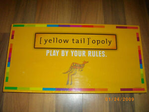 Factory Sealed-Yellow Tail opoly-2009-Hard to find-Wine Monopoly London Ontario image 1