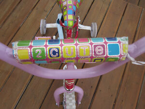Kids bike, Supercycle (12 inch.) + training wheels for sale