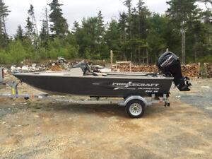 Excellent Boat, Motor, Trailer Pkg