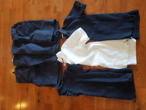 Boys size 10/12 shorts and short sleeve polo school uniforms!